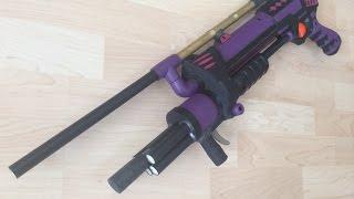 Nerf Shotgun Mod Video