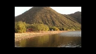 Arizona Camping Part 1 of 5 - Apache Lake Camping in the Tonto National Forest