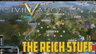 "Civ 5 #1 ""R.E.D. WWII Mod"" - The Reich Stuff"