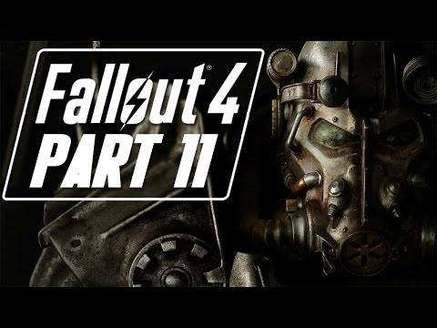"Fallout 4 - Let's Play - Part 11 - ""Super Mutant Airwalk (New Companion: Strong)"""