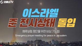 [생방송] 이스라엘 준 전시상태 돌입/예루살렘 평화를 …