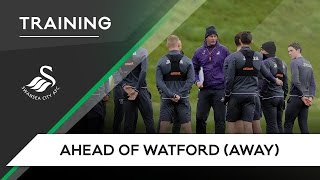 Swans TV - Training ahead of Watford (Away)