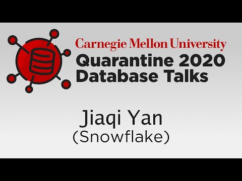 Query Optimization At Snowflake (Jiaqi Yan, SnowflakeDB)