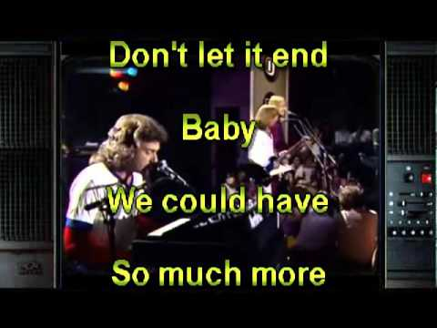Dont let it end HD Karaoke