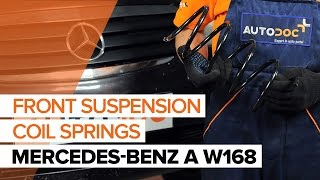 Watch the video guide on MERCEDES-BENZ A-CLASS (W168) Wheel speed sensor replacement