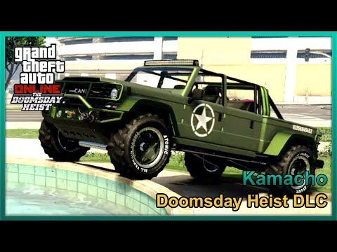 GTA Online - Kanis Kamacho [Jeep CC715] - Fully Upgraded ($820,000) - Doomsday Heist DLC