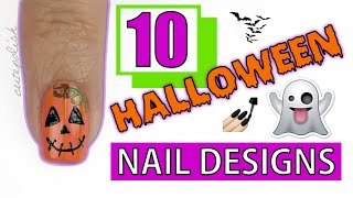 10 Halloween Nail Art Designs You HAVE To Try!