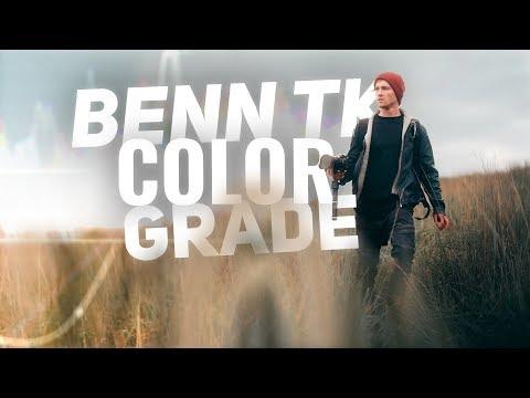 Benn TK COLOR GRADING Tutorial - Adobe Premiere Pro CC 2019 thumbnail