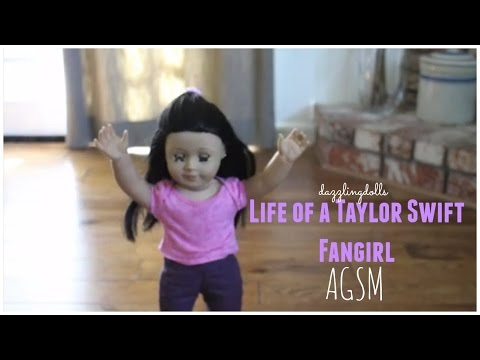 THE LIFE OF A TAYLOR SWIFT FANGIRL    An American Girl StopMotion    AGSM    dazzlingdolls