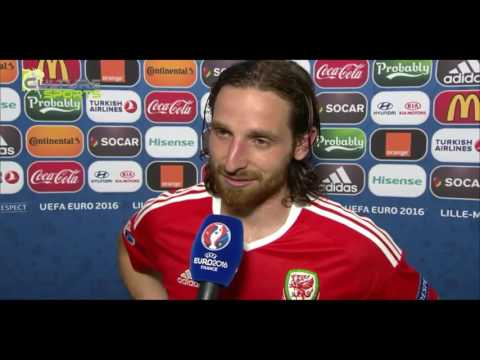 Wales vs Belgium 3-1 Post Match Interviews / Euro 2016 France