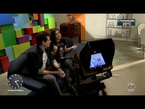 Teleton Mais vai transmitir conteúdo exclusivo pela internet | SBT Notícias (10/10/17)
