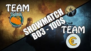 REVANSA! SHOW MATCH PE 100 EURO - TEAM KEBAB VS TEAM EURO - 22:30