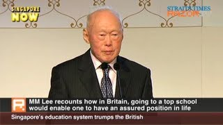 Singapore's education system trumps the British (MM Lee gets Gryphon Award Part 4)