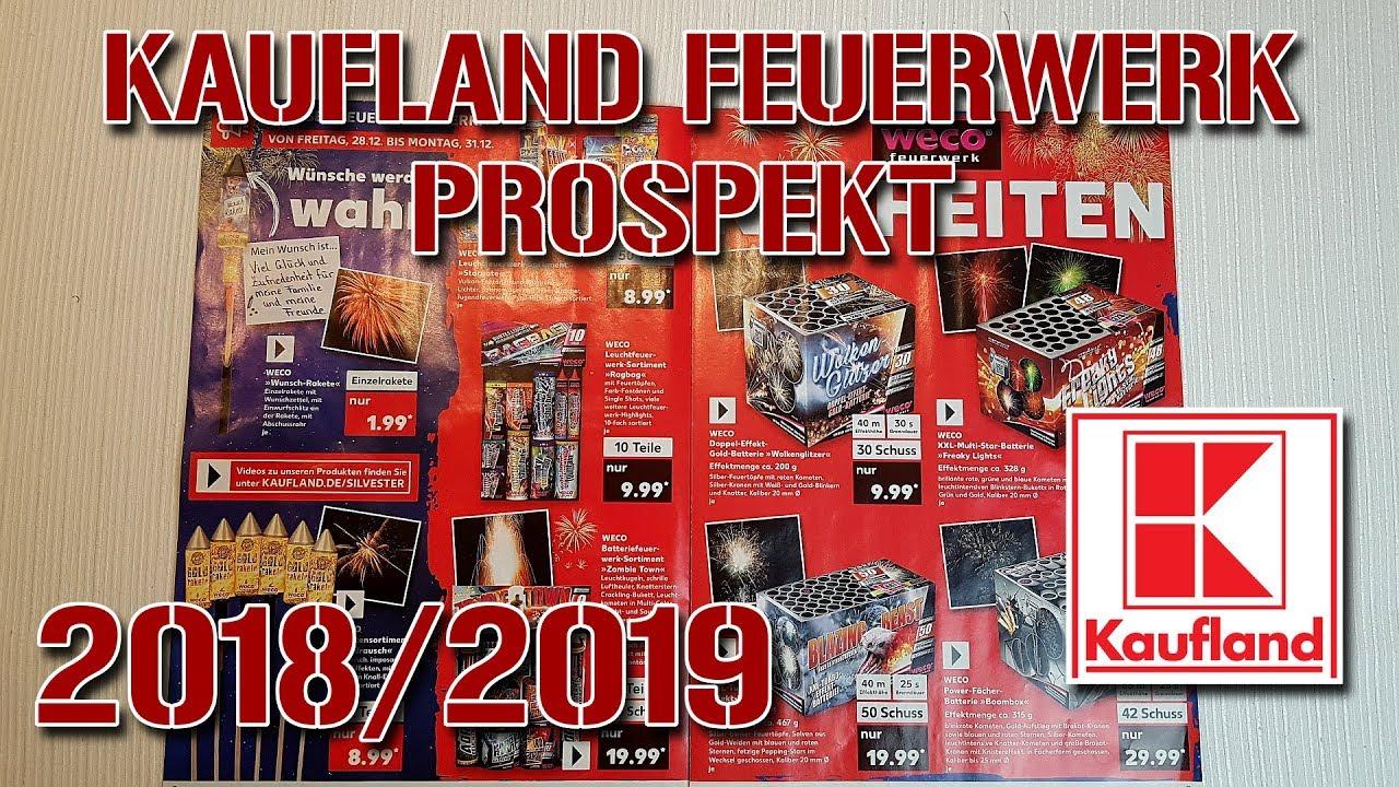 kaufland silvester feuerwerk prospekt 2018 2019 youtube