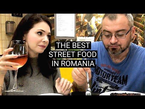 The best ROMANIAN STREET FOOD | Carnivale food market Bucharest