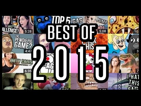 Thumbnail: Best of 2015 Montage - PewDiePie