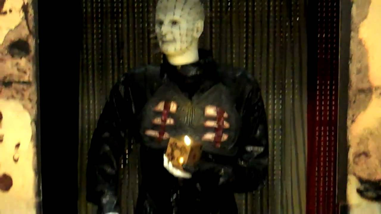 spirit halloween store freddy michael myers pinhead animatronics 2010 youtube - Spirit Halloween Store 2016