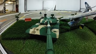 Танк на Радиоуправлении с Камерой (Управление по камере)(Простой способ установки FPV на Радиоуправляемом Танке Управление танком по камере,прохождение препятствий..., 2016-09-23T10:06:14.000Z)