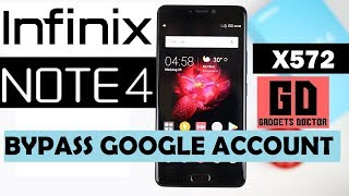 Infinix note 4 X572  | Bypass FRP Google Account - Android-7 (Very Easy)