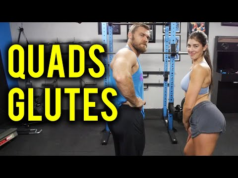 How to Build GLUTES & QUADS - Do These 3 Exercises!