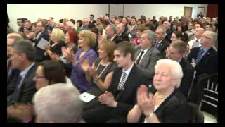 President of Ireland, Michael D. Higgins opens CWU Headquarters
