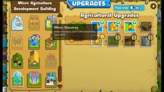 Bloons Monkey City - How To Get Banana Farms Walkthrough