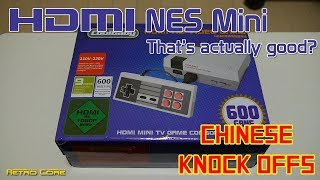 Chinese Knock Offs - Cool Baby HDMI Mini NES (It's actually good!)