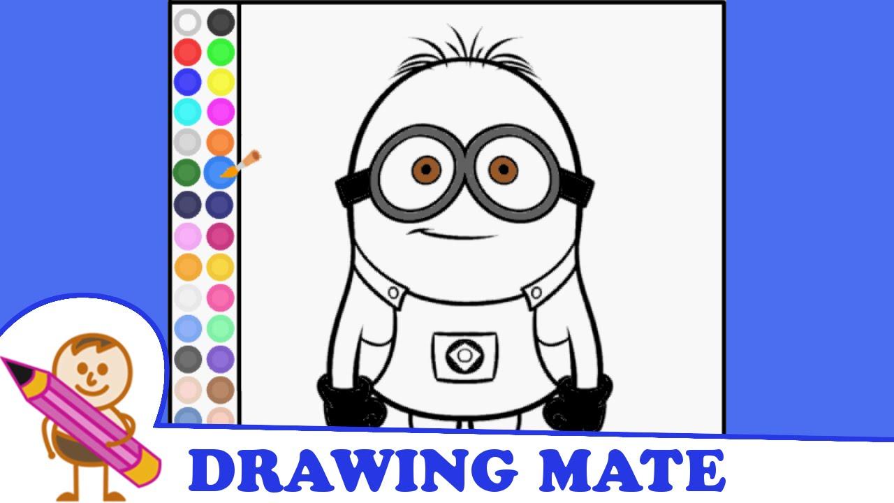 Minions Coloring Pages Kids Free Colouring Book Kolorowanki Gry Dla Dziewczyn Online Minionki