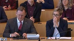 Thüringer Landtag: Wahl des Ministerpräsidenten (3. Wahlgang)