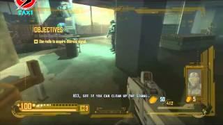 Lets play F.E.A.R. 2 Project Origin; Reborn - Levels 1 through 3 - Landing, Mechs, Fettle, Escape