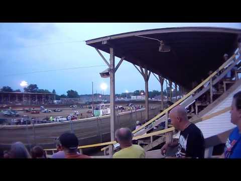 Belle Clair Speedway Modified Heat August 15 2014