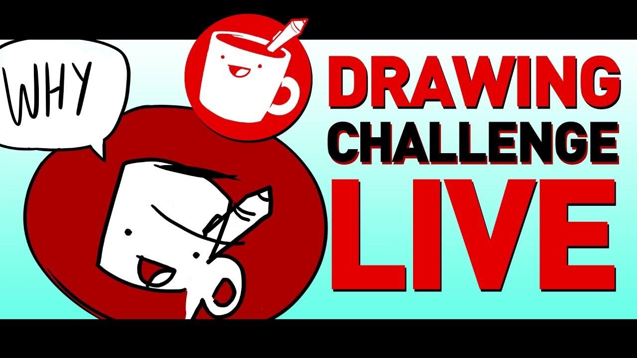 drawing challenge live youtube. Black Bedroom Furniture Sets. Home Design Ideas