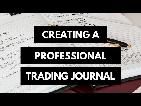 How to make forex journal