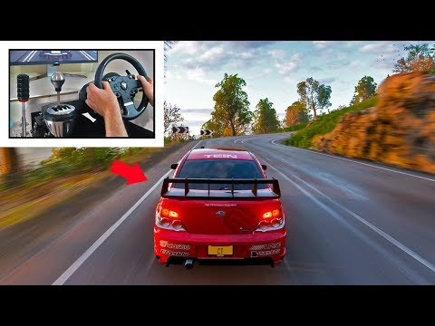 How To Mountain Drift King.. | Forza Horizon 4 Steering Wheel Drifting (Thrustmaster)