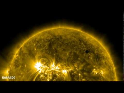 Venus Transit 2012  Ultrahigh Definition View NASAESA