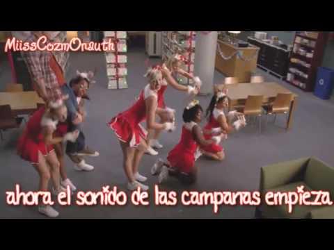 Jingle Bell Rock Glee Traducida Al Espanol Youtube