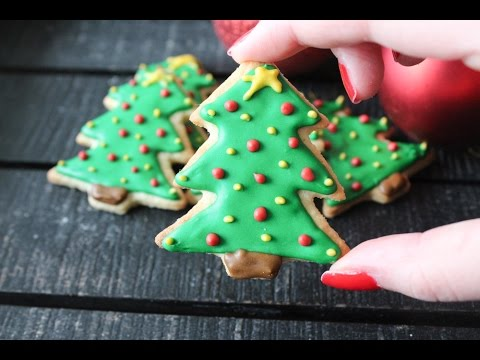 How To Make Christmas Tree Cookies By One Kitchen Episode 337
