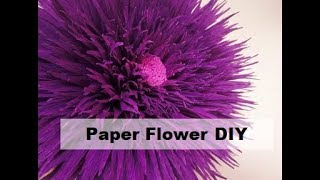 Giant crepe paper flowers. Giant flowers. Сrepe paper flowers. Wedding decoration. Crepe paper peony