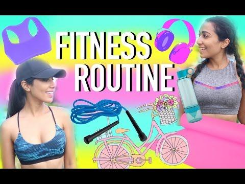 NO-GYM WORKOUT Ideas, Meals & Fitness Essentials | Paris & Roxy