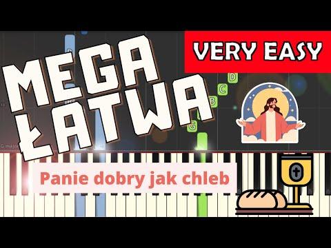 🎹 Panie dobry jak chleb - Piano Tutorial (MEGA ŁATWA wersja) 🎹