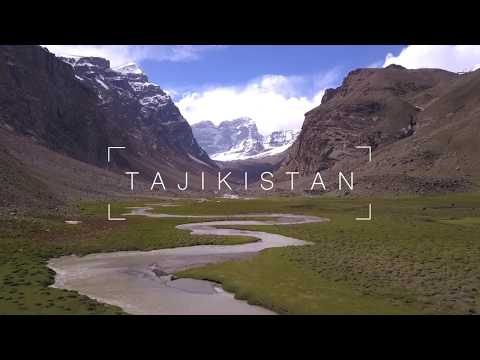 TAJIKISTAN - Pamir Highway, Wakhan Corridor, Hindu Kush, Bulunkul, Khorog, Dushanbe, Drone 4k