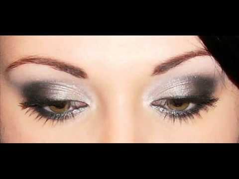 Makijaż Wieczorowy Szary Krok Po Kroku Youtube