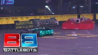 BattleBots Basement Tapes: DOUBLE JEOPARDY vs. FOXTROT vs. DAISY CUTTER