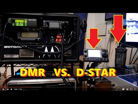 DMR vs D-STAR : (10 Meter Simplex)