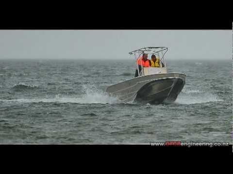 17 Foot UDV Navatek vessel built in NZ by Orca Engineering & Marine