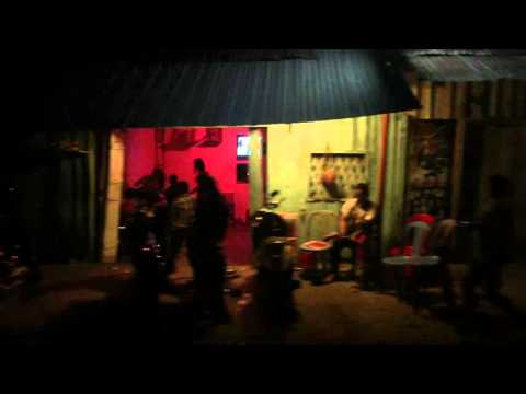 Sihanoukville Nightlife - Driving Through Karaoke Street