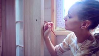 видео Врезка замка в межкомнатную дверь своими руками