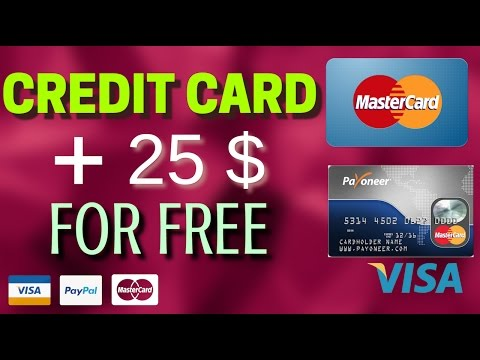 How To Get Credit Card With Prepaid For Free Any Where In The World