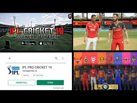 IPL PRO CRICKET 19 BRAND NEW CRICKET GAME LAUNCHED FOR ANDROID || DOWNLOAD OFFICIALLY FOR ANDROID
