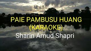 Paie Pambusu Huang [Official Karaoke] ~ Sharin Amud Shapri